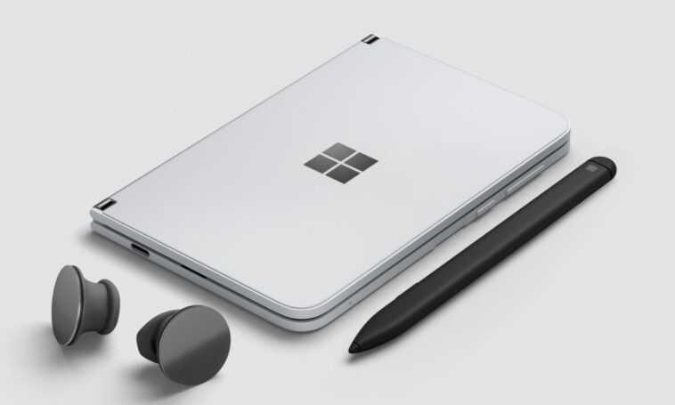 Les Nouveaux Rendus De La Surface Duo 2 Anticipent Son