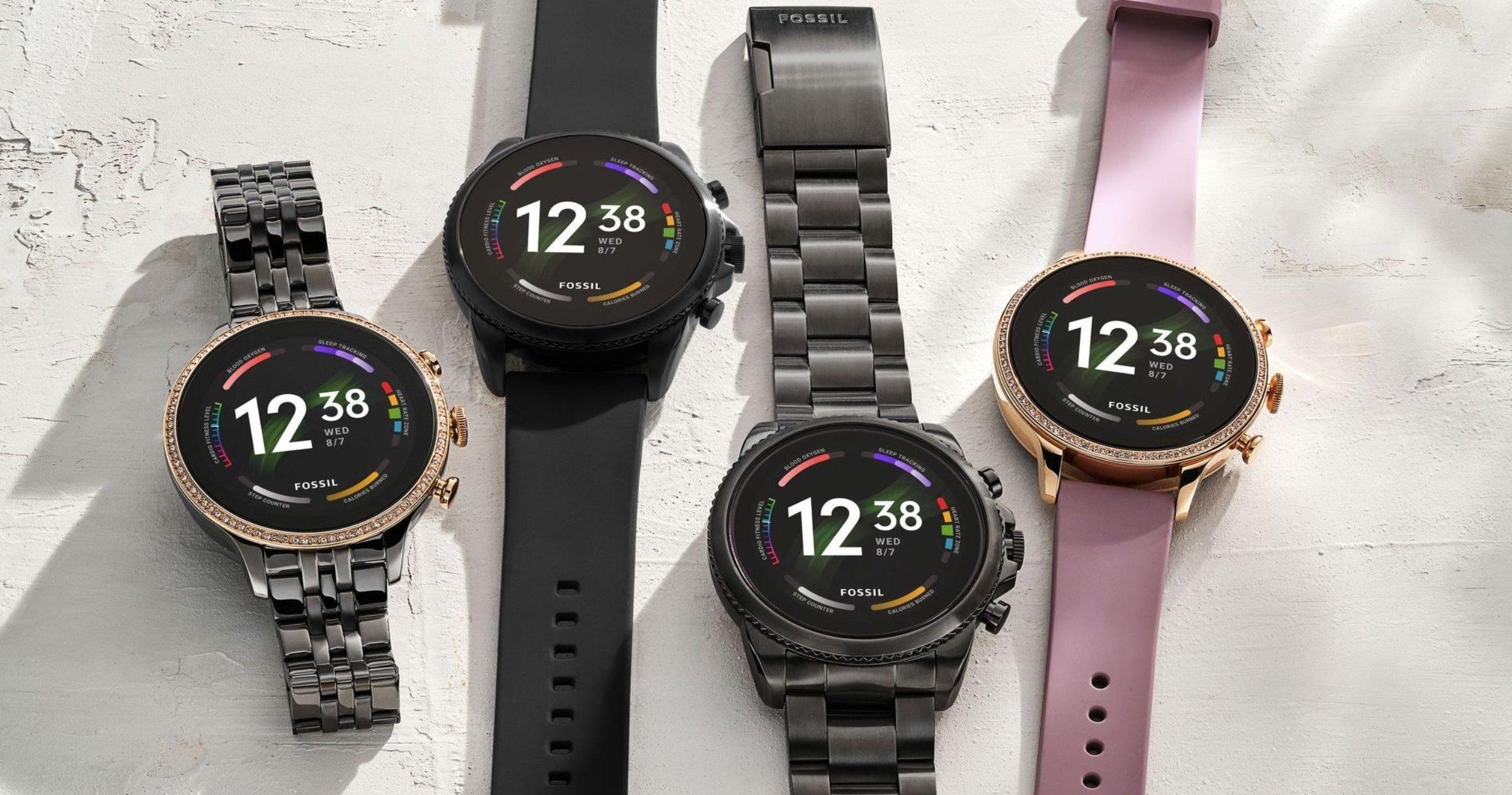Nouvelles montres connectées de Fossil