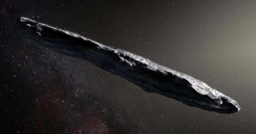 L'astéroïde 'Oumuama, premier enregistrement d'objets d'autres systèmes stellaires traversant notre galaxie