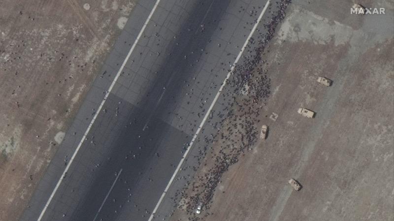 Les talibans semparent de lAfghanistan des images satellite montrent