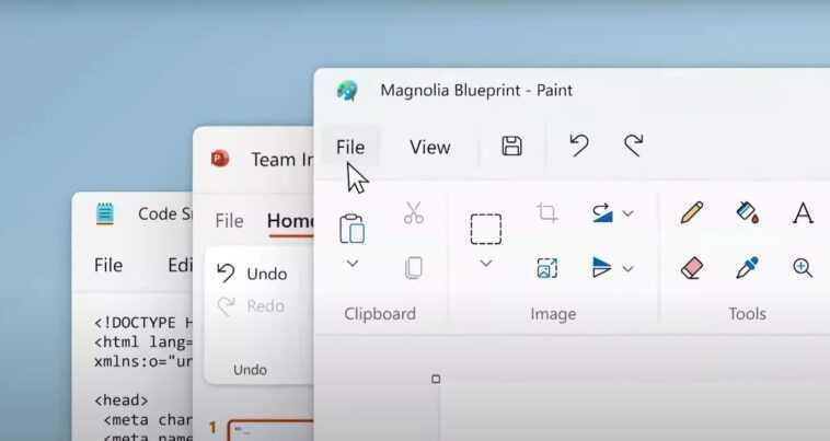 Microsoft Paint Se Renouvelle Et Acquiert Un Thème Sombre Dans