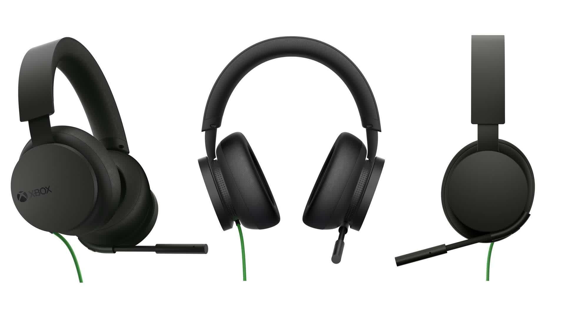 Microsoft presente un casque filaire Xbox elegant et abordable