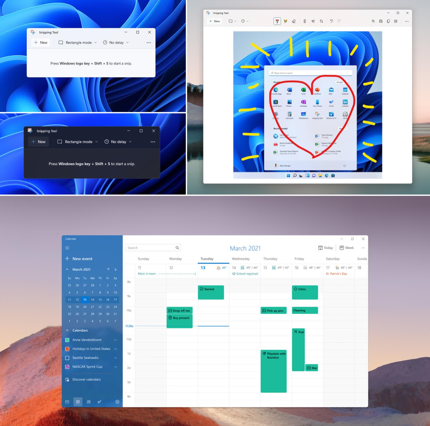 Microsoft reorganise plusieurs applications Windows 11 prechargees dans la derniere