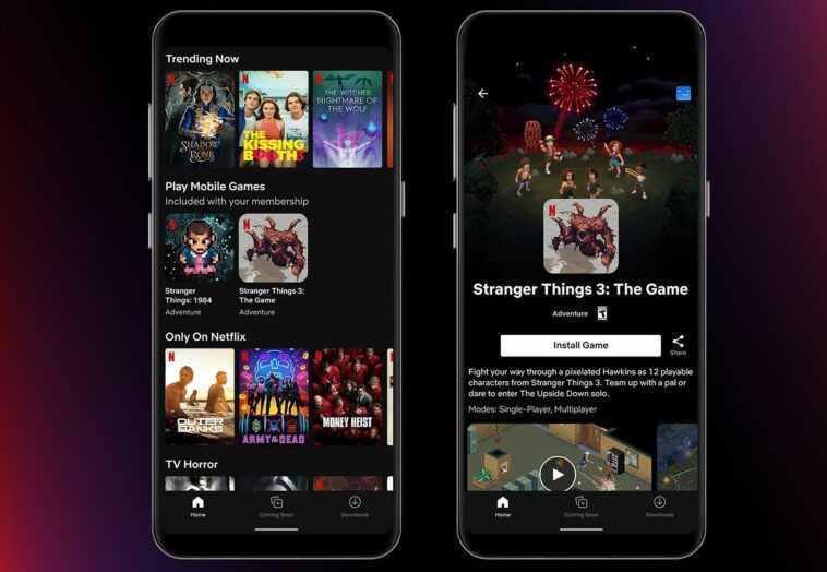 Netflix Commence à Tester Des Jeux Mobiles Dans Son Application