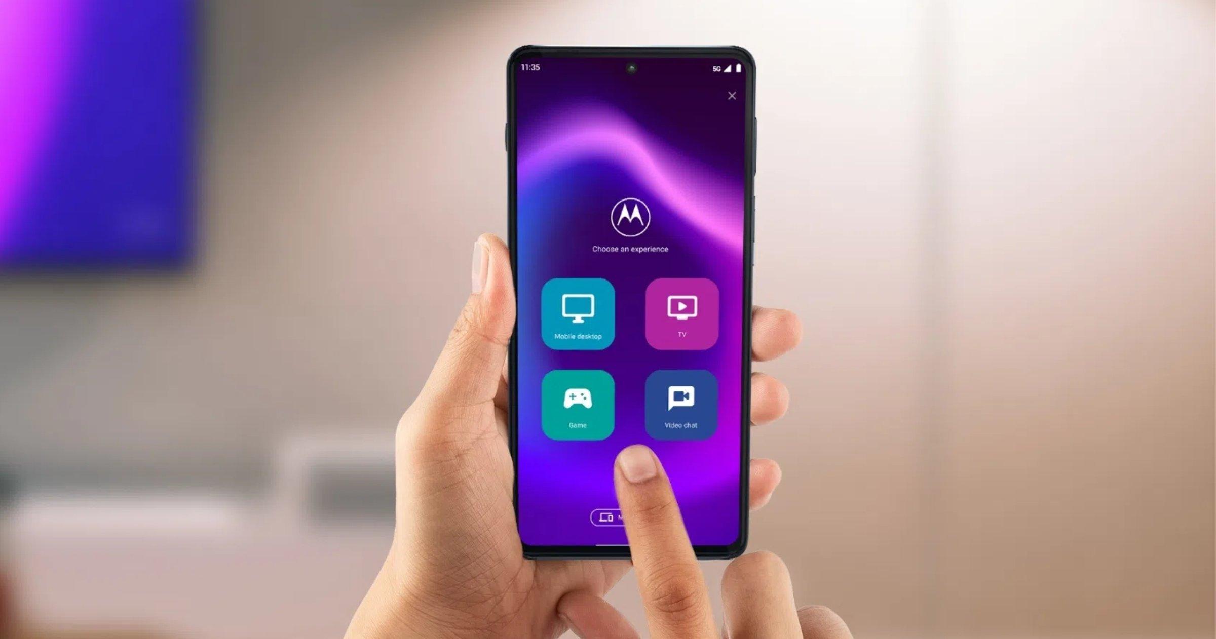 Écran Motorola Edge 2021