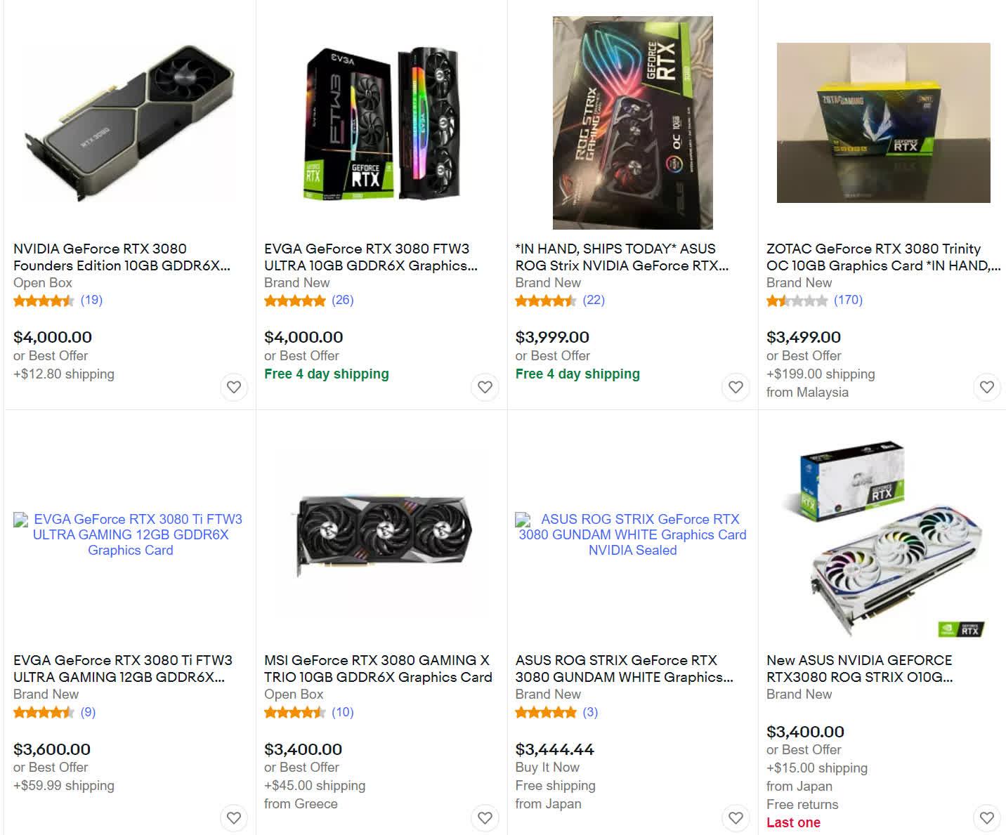 Nvidia predit que les problemes dapprovisionnement en cartes graphiques dureront