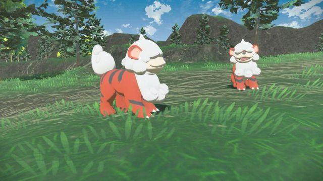 Pokémon Arceus Legends : Hisui Growlithe