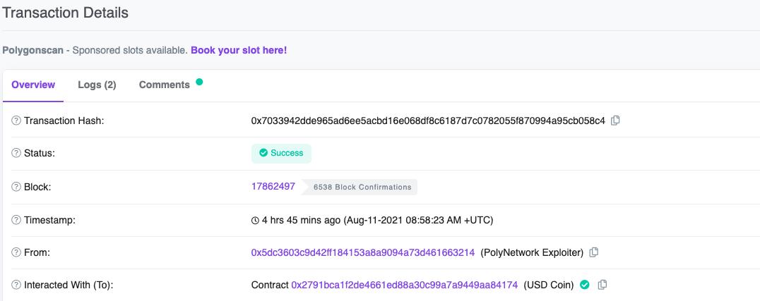 1 million de dollars en Ethereum retourné par un pirate informatique