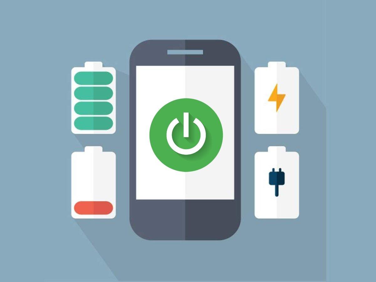 Éteignez la batterie mobile