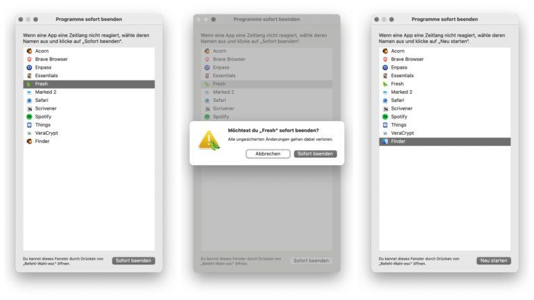 Quitter lapplication sur Mac 5 facons