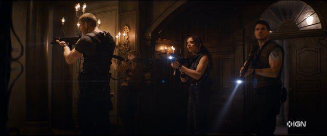 Resident Evil : Bienvenue à Raccoon City |  Voici à quoi ressemblent Leon, Claire, Jill et Chris dans le film