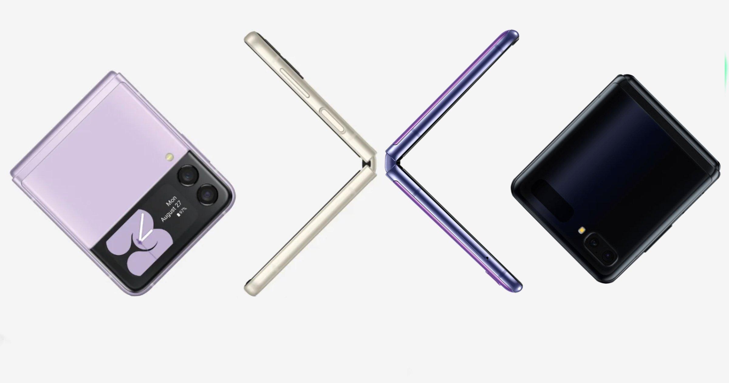 Samsung Galaxy Z Flip et Z Flip3