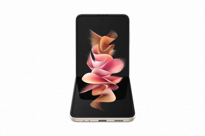 Forme courbée du Samsung Galaxy Z Flip 3