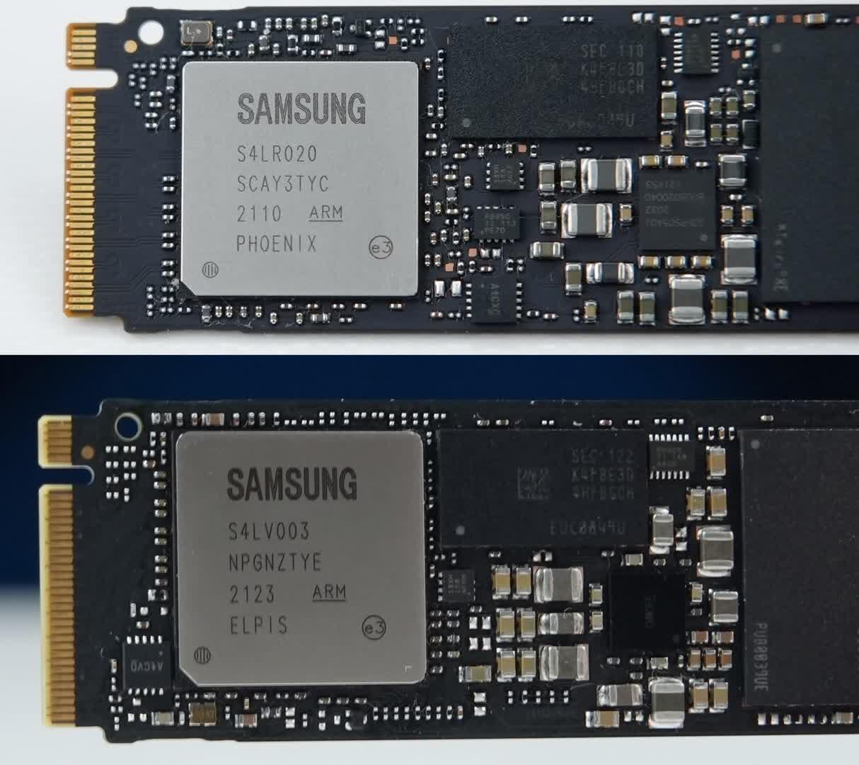 Samsung echange des pieces dans ses SSD 970 Evo Plus