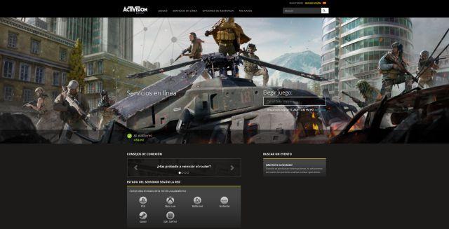 Call of Duty: les serveurs Warzone savent s'ils fonctionnent avec une stabilité de connexion multijoueur