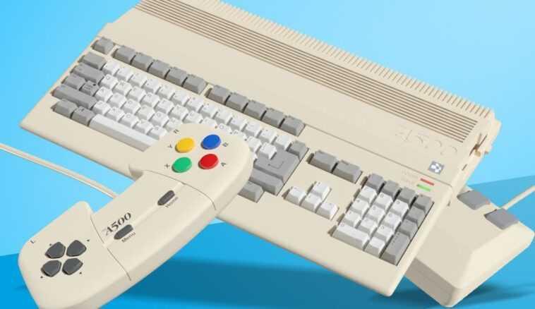 Une Version Mini Du Légendaire Amiga 500 Est En Route
