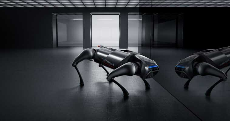 Voici La Première Vidéo Du Cyberdog, Le Chien Robot De