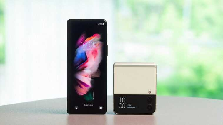 Voici Les Samsung Galaxy Z Fold3 5g Et Z Flip3