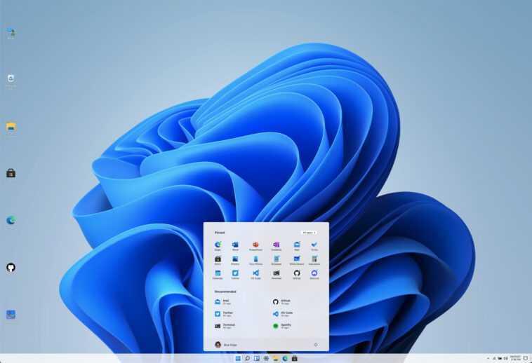Windows 11 Recréé Dans Un Navigateur