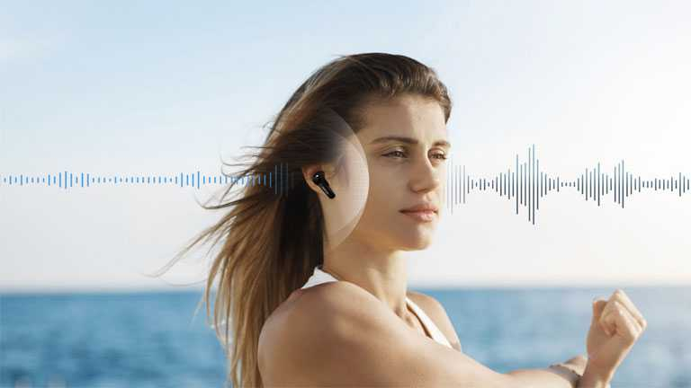 Earfun Air Pro 2 Suppression Bruit Vent