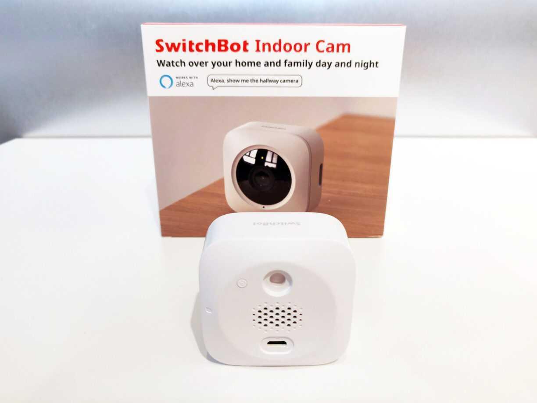 Switchbot Indoor Cam Back Arriere Test