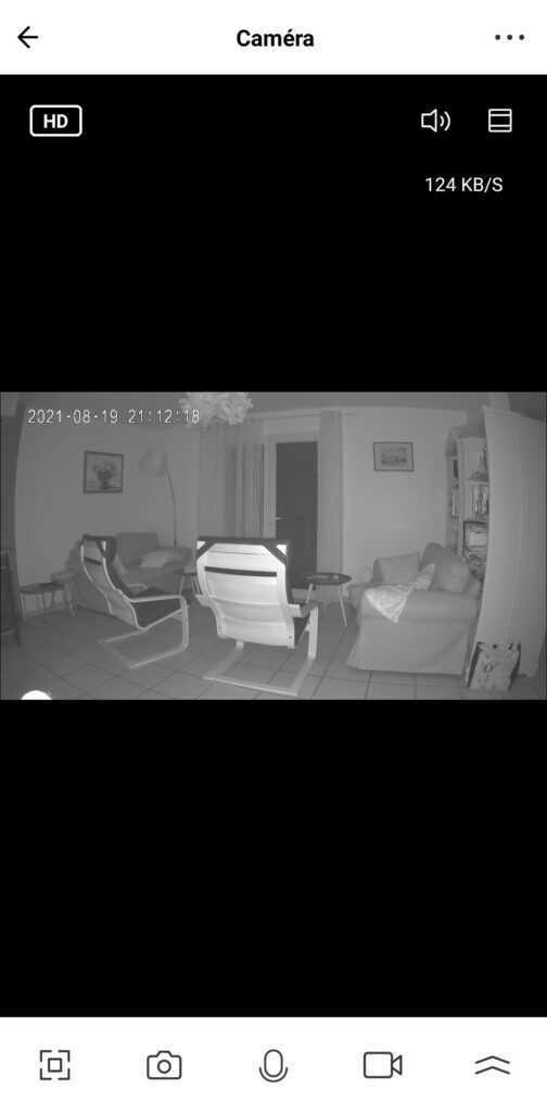 Switchbot Indoor Cam Night Infra Rouge Ir
