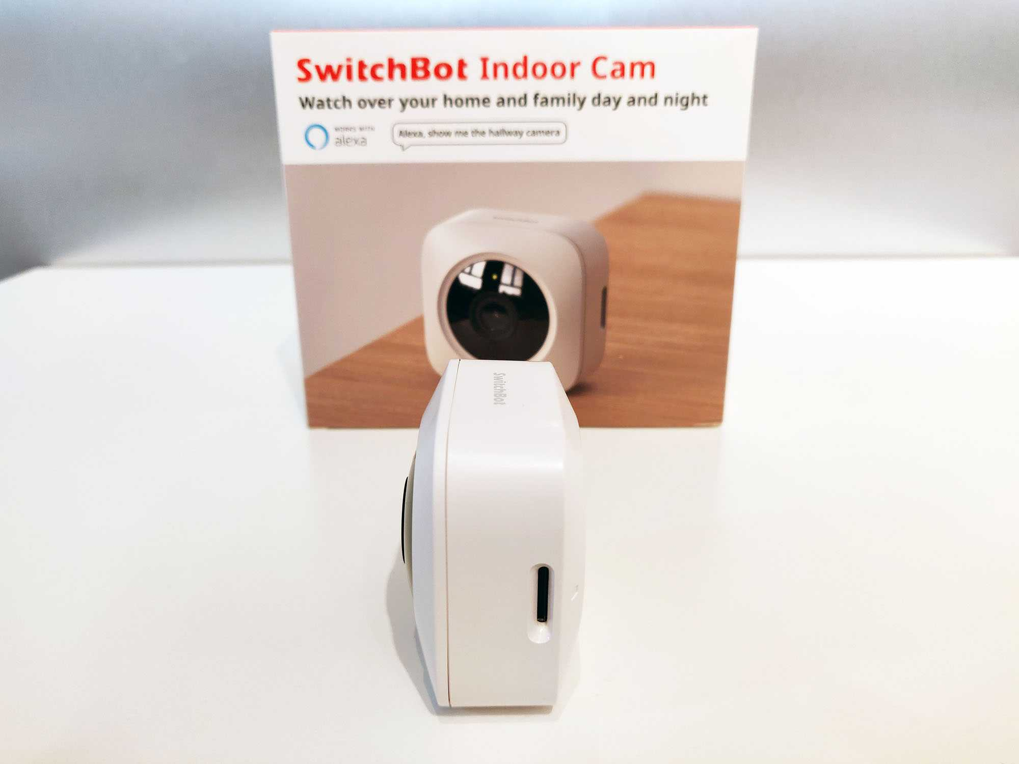 Switchbot Indoor Cam Right Droite
