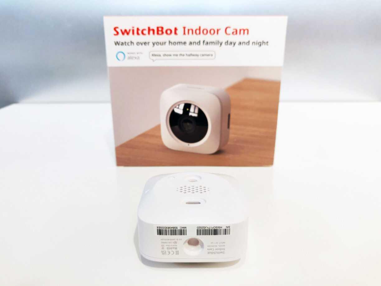 Switchbot Indoor Cam Under Dessous Test