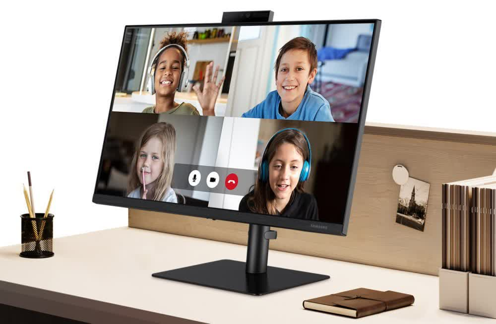 1631621923 914 Samsung devoile un nouveau moniteur axe sur la WFH avec