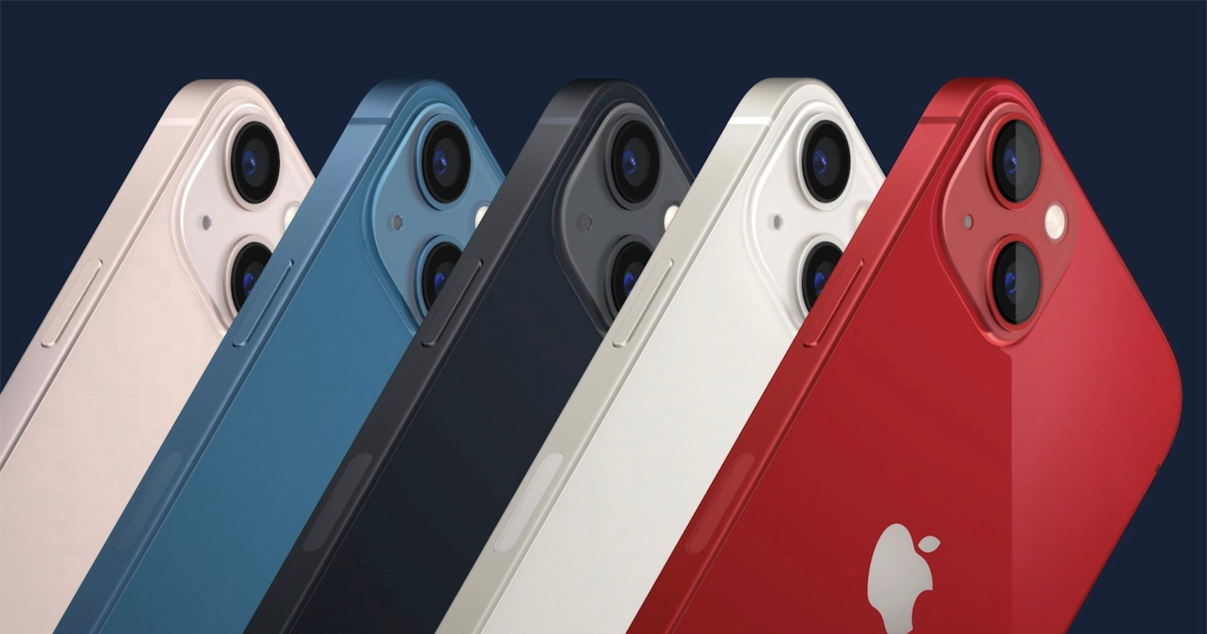 Nouvelles couleurs de l'iPhone 13