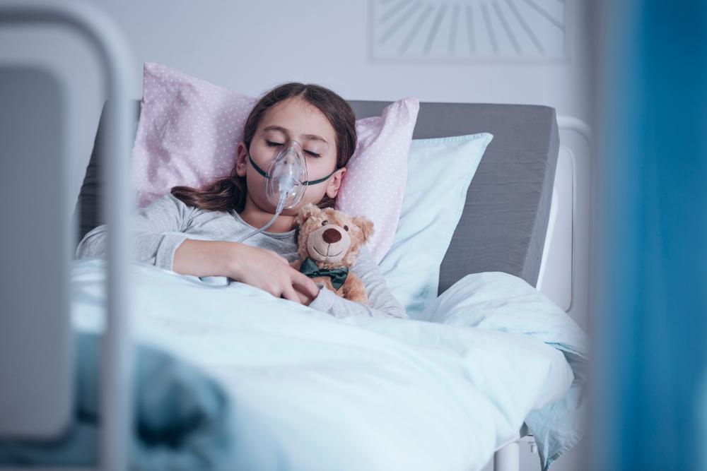 enfant hospitalisé pour asthme