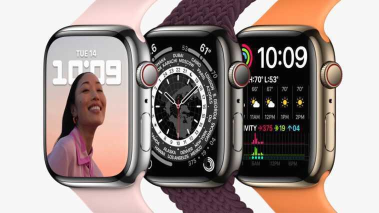 L'apple Watch Series 7 Est Plus Grande, Plus Courbée Et