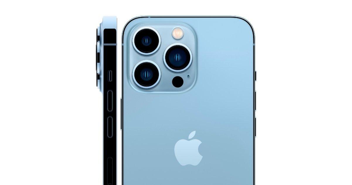 Caméras arrière iPhone 13 Pro