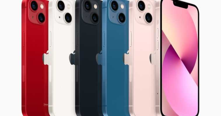 Voici Comment Le Nouvel Iphone 13 Est Comparé à L'android