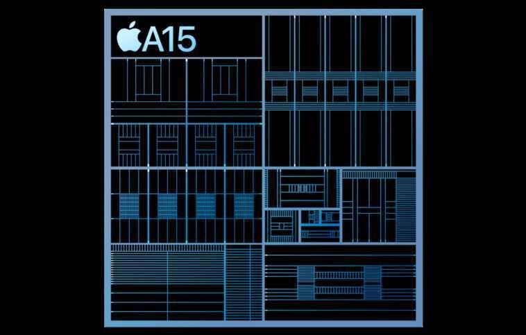 """L'a15 Bionic D'apple Est Plus Rapide Que Le """"concurrence,"""" Moins"""
