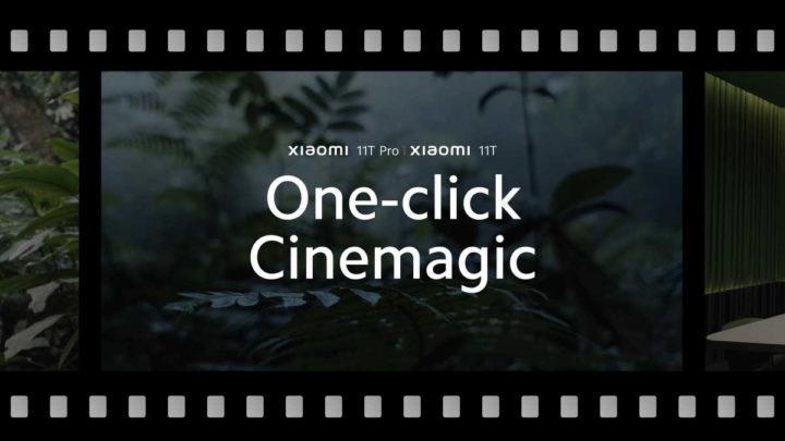Smartphone Xiaomi 11T Pro Cinemagic