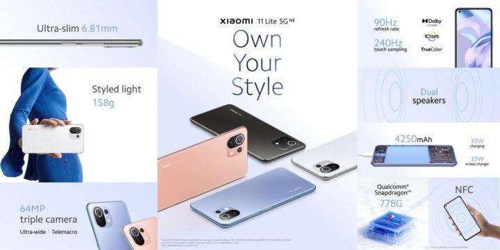 1631719986 431 Xiaomi 11 Lite 5G NE – un design ultra leger sans