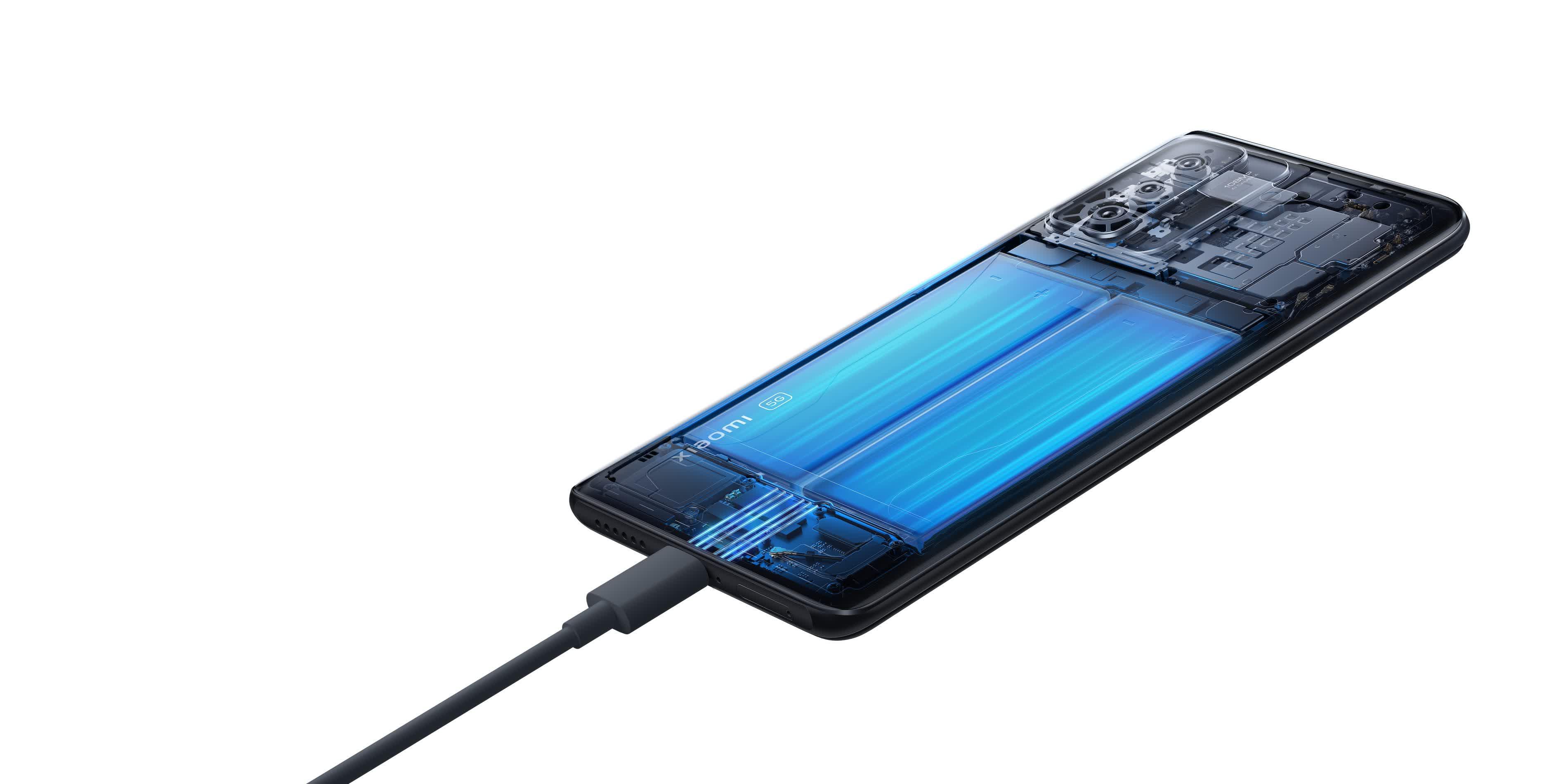1631726468 746 Le smartphone 11T Pro de Xiaomi peut etre completement charge