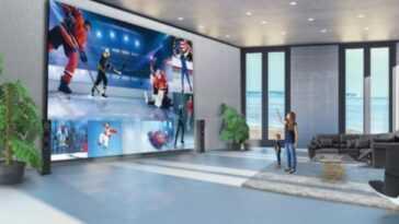 Ce Nouveau Lg Smart Tv A Un écran Monstrueux De