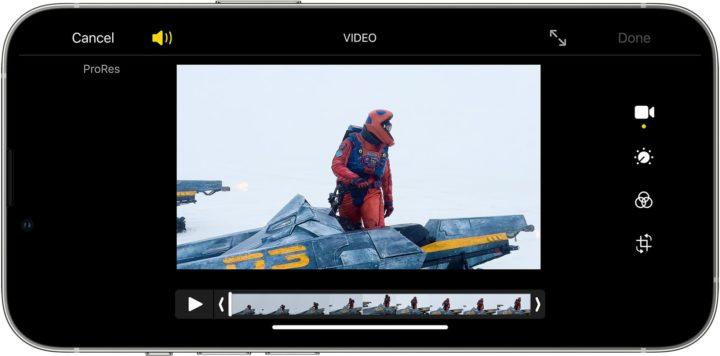 1631739609 563 Lenregistrement 4K ProRes nest disponible que sur liPhone 13 de