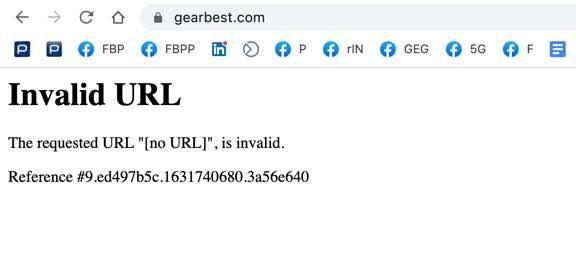 GearBest est désactivé et personne ne sait pourquoi!  A-t-il fait faillite ?