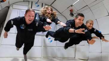 Spacex A Lancé 4 Touristes Civils En Orbite Terrestre :