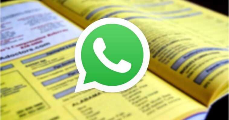 Whatsapp Se Veut Les Nouvelles Pages Jaunes : Il Va