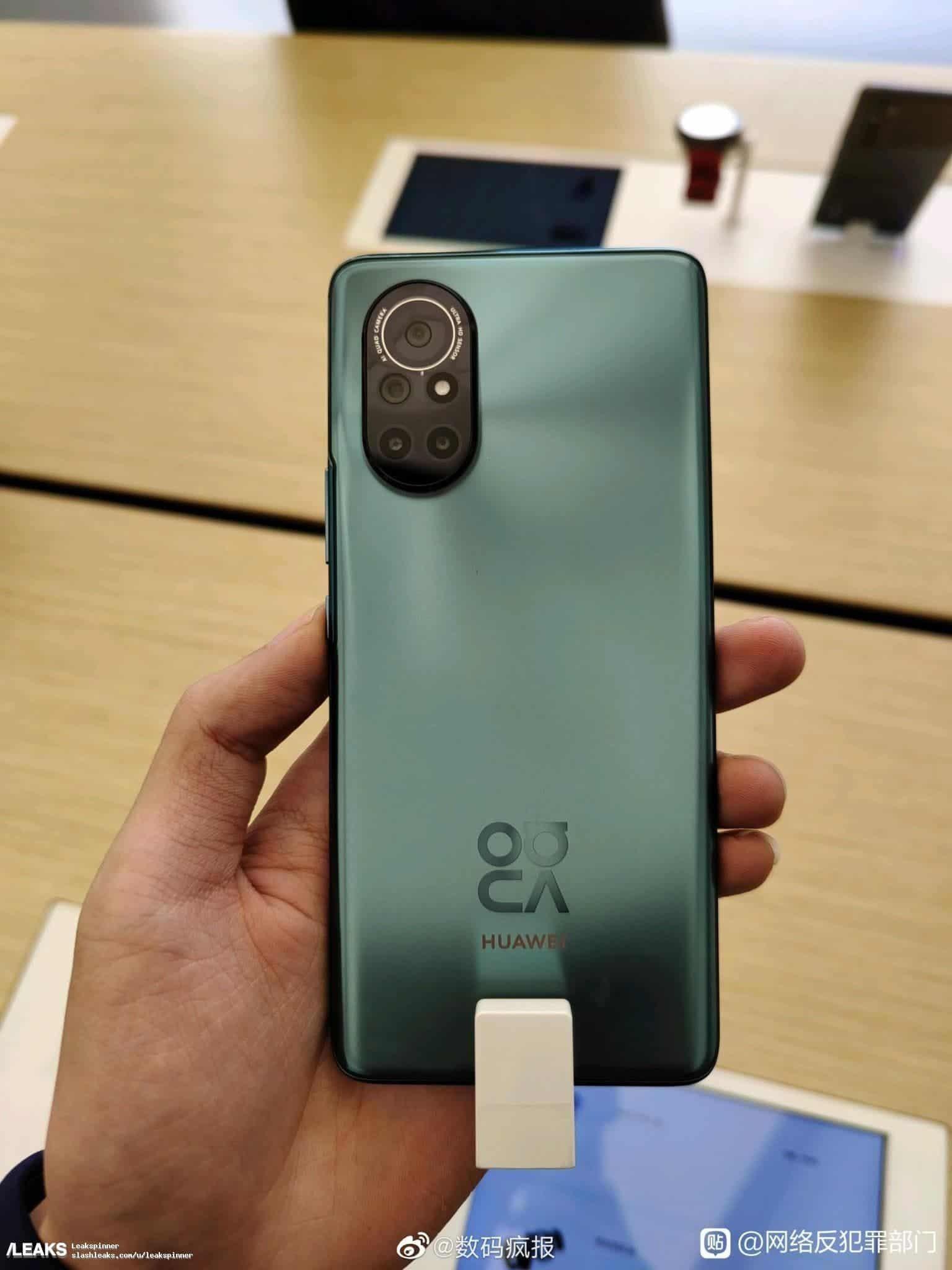 Huawei nova 9 vert
