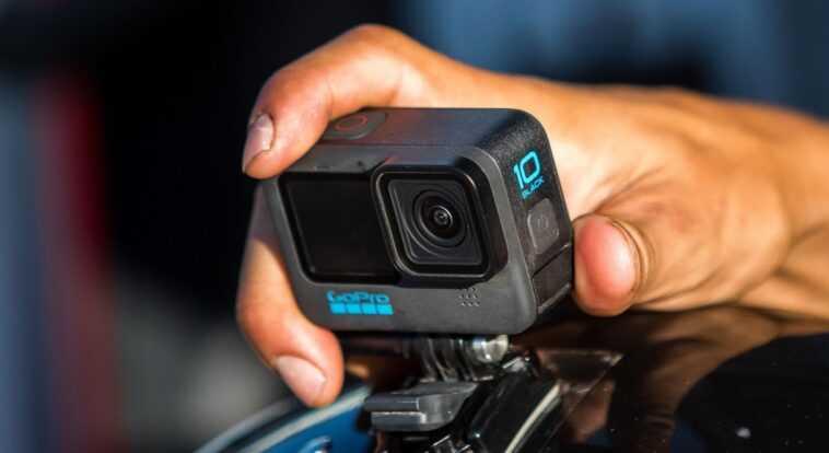 Gopro Annonce La Caméra D'action Hero 10 Black Avec Un