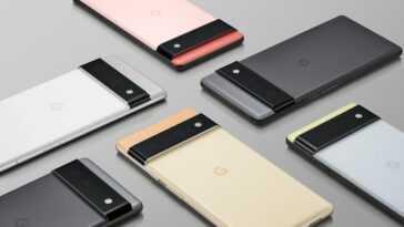 Les Google Pixel 6 Et Google Pixel 6 Pro Apparaissent