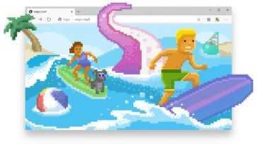 Comment Jouer Au Mini Jeu De Surf Dans Microsoft Edge Sur