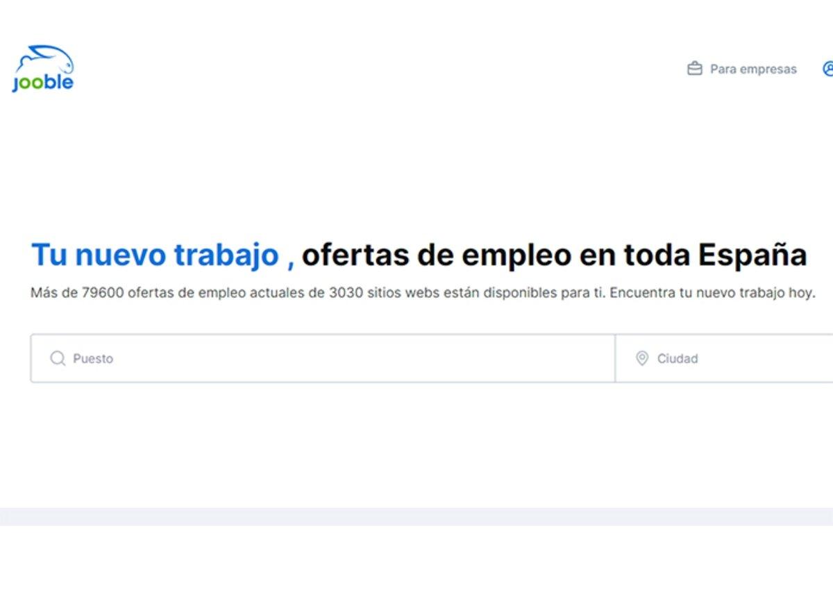 Jooble pour chercher du travail en Espagne