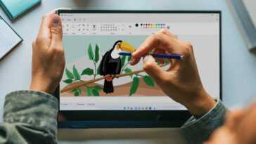 Voici Le Nouveau Microsoft Paint Pour Windows 11