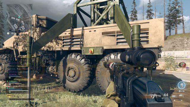 Call of Duty: Warzone guide les stations mobiles diffusent des numéros d'événement